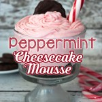 Peppermint Cheesecake Mousse