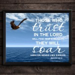 Printable Bible Verse Trust In the Lord Isaiah 40:31