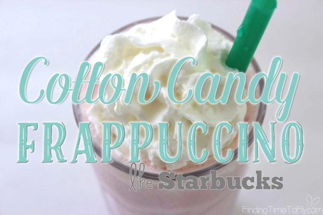 Cotton Candy Frappuccino (like Starbucks)