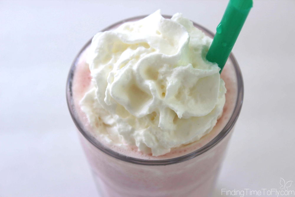 With this recipe I can control the ingredients and reduce the calories and carbs significantly! It also saves me some money to make a Cotton Candy Frappuccino like Starbucks at home!