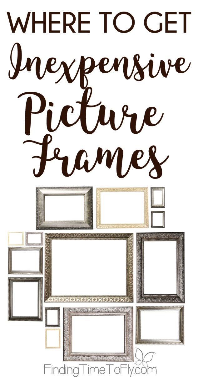 Where to Get Inexpensive Picture Frames