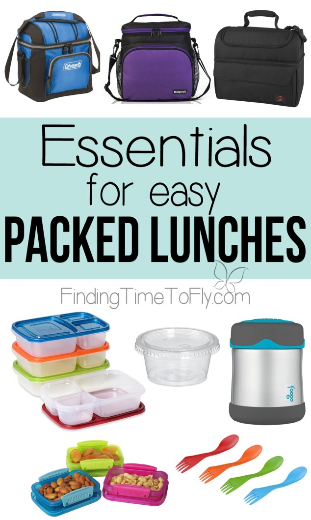 10 Essentials for Easy Packed Lunches