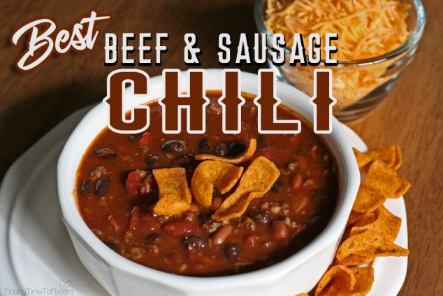 Best Beef and Sausage Chili Recipe