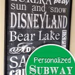 Personalized Subway Art & Giveaway!