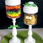 St. Patricks Day Candy Jars