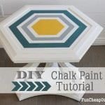 DIY Money Saving Chalk Paint