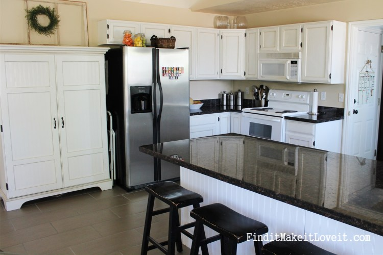 Painted kitchen cabinets DIY (6)