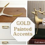 Gold Spray Paint- the stuff to get!