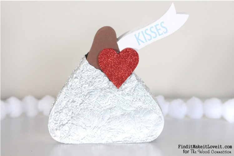 Kissing booth sign and 'hershey kiss' (5)