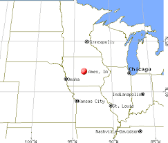 map of ames ia