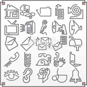stock-illustration-1334823-continuous-line-icons-communications-vector