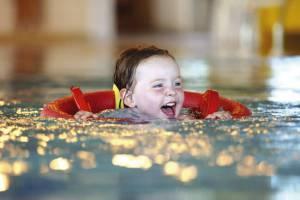 Swimming at Hoburne Bashley - Hoburne Bashley Holiday Park