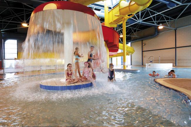 Indoor Pool at Hoburne Torbay