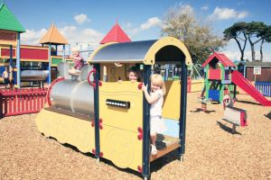 Children's Play Area at Hoburne Naish - Hoburne Naish Holiday Park
