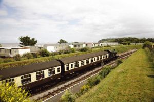 West Somerset Steam Railway at Hoburne Blue Anchor - Hoburne Blue Anchor Holiday Park