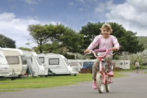 Cycling at Hoburne Blue Anchor - Hoburne Blue Anchor Holiday Park