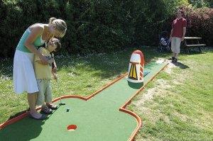 Crazy Golf at Burnham - Burnham-on-Sea Holiday Village