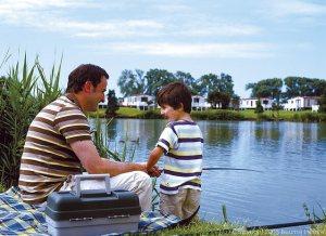 Fishing Lake at Burnham - Burnham-on-Sea Holiday Village