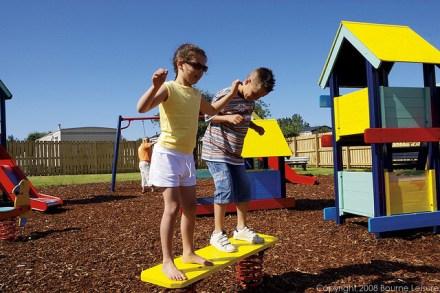 Play Area at Church Farm - Church Farm Holiday Village
