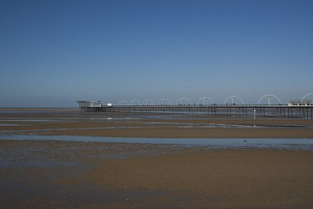 Beach at Southport - Southport Holiday Park