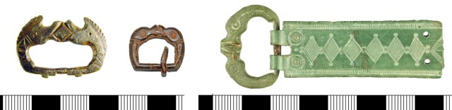 Buckles of Hawkes and Dunning Type IA (LIN-065D25, GLO-261AA4 and WILT-741DAF)