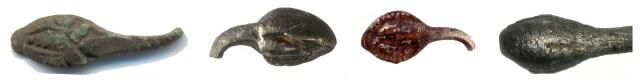 Roman snake-ring terminals (DENO-2DC956, ESS-1857A7, ESS-DA0320 and SUR-B7D5B4)