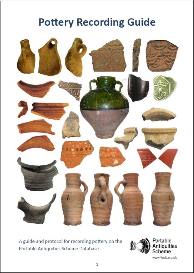 The Guide to Recording Pottery
