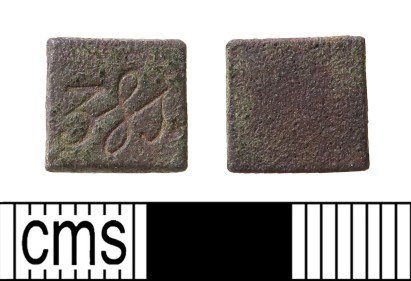 Post-medieval apothecary weight (HAMP-24F4C3). Copyright: Hampshire Cultural Trust; CC-BY licence)