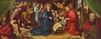The Nativity by Hugo van der Goes (c. AD 1440-1482).