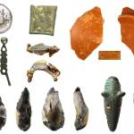 Image of seven archaeological finds found in Essex.