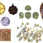 Image of seven archaeological finds from Rutland.