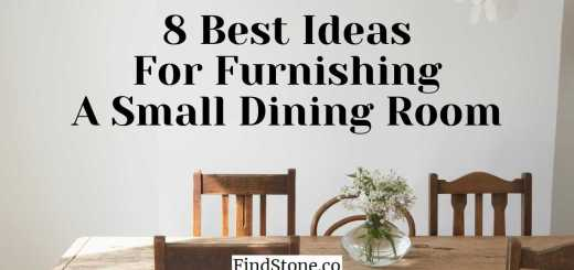 8 Best Ideas For Furnishing A Small Dining Room findstone.co
