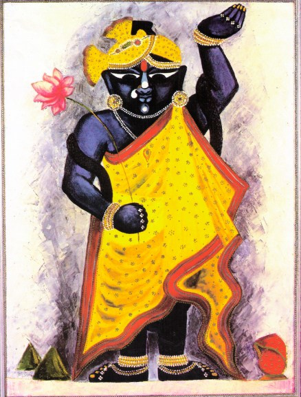 Krishna as Shri Nathji