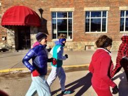 PJ run ladies run