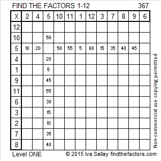 367 Factors