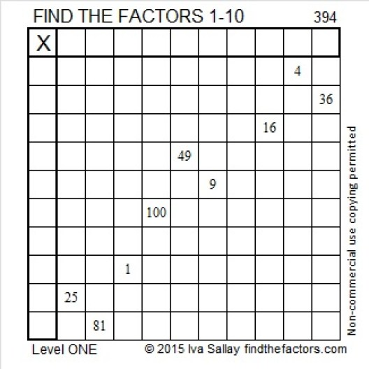 394 Puzzle
