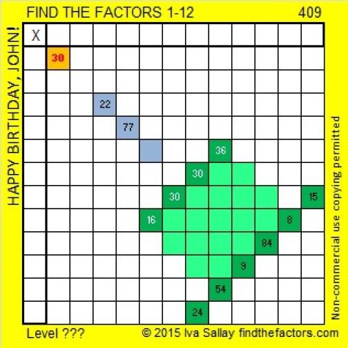 409 Puzzle