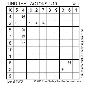 413 Factors