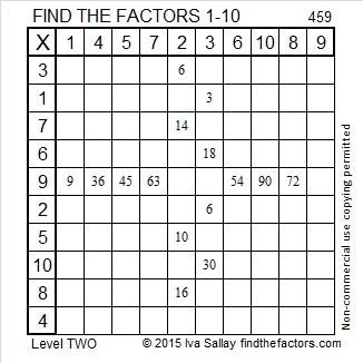 459 Factors