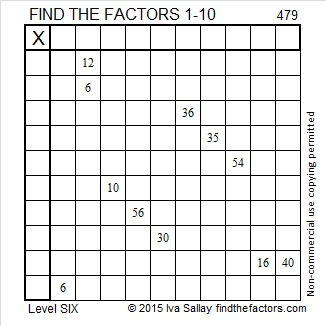 479 Puzzle