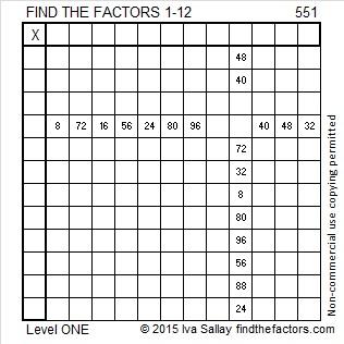 551 Puzzle