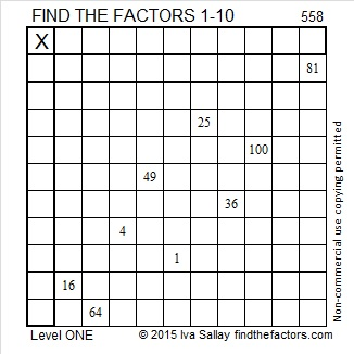 558 Puzzle