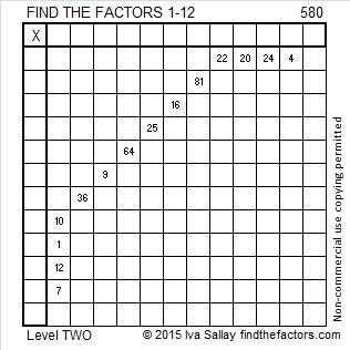 580 Puzzle