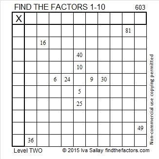 603 Puzzle