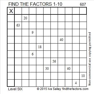 607 Puzzle