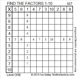 657 Factors