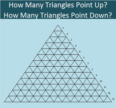 658 Thirteen Rows of Triangles