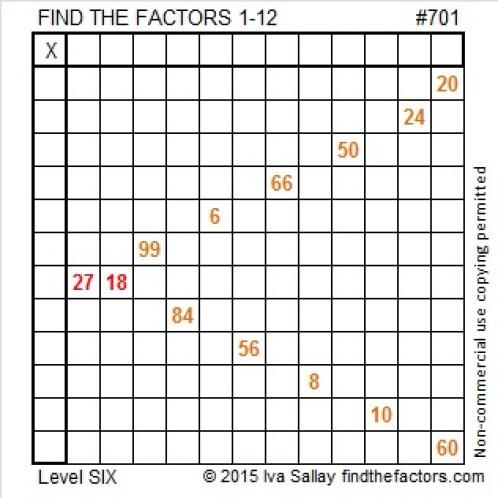 701 Puzzle