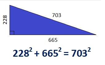 703 Hypotenuse