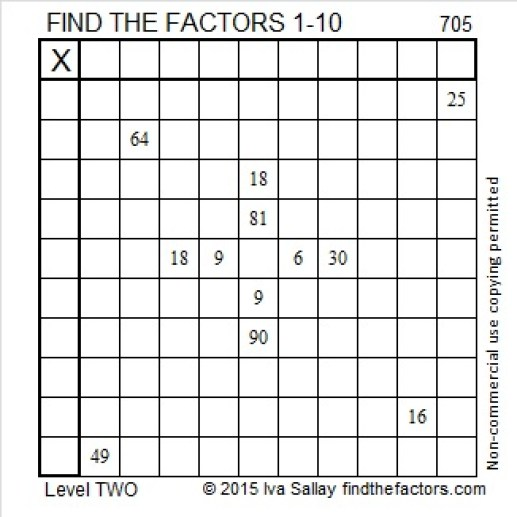 705 Puzzle